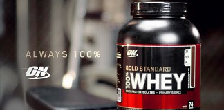 test de la Gold Whey d'Optimum Nutrition