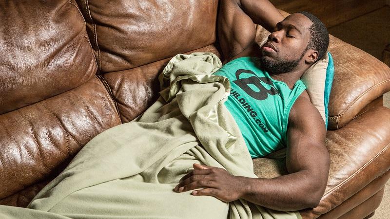 gain muscle sleep