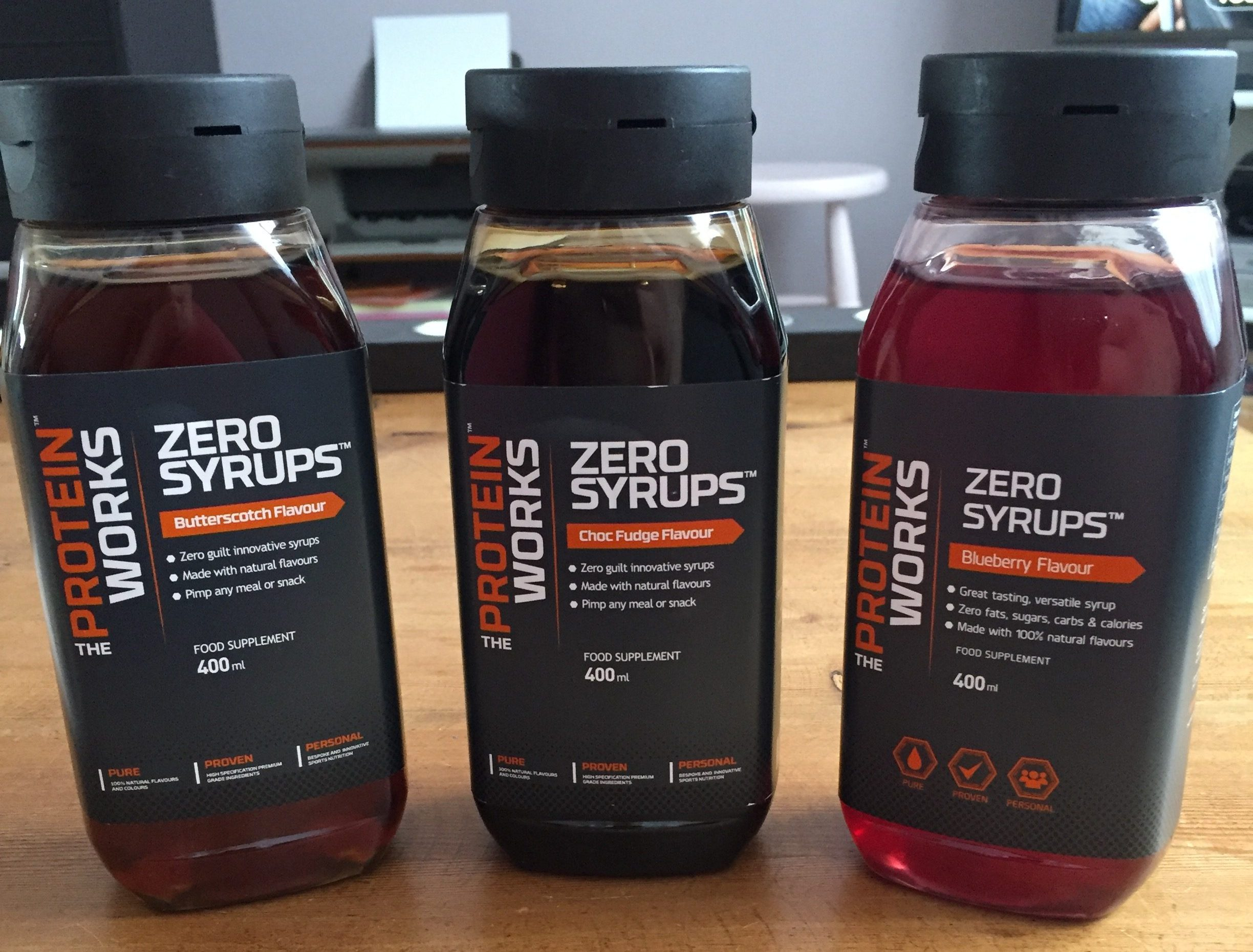 test sauce sans calorie theproteinworks