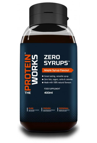 zero syrup the protein works